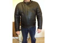 """JTS Leather Motor Bike Jacket 46"""""""