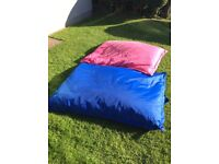 Outdoor garden bean bag x2