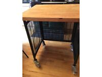 Heavy Duty Butchers Block Trolley