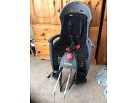 Child bike seat nearly new 50£