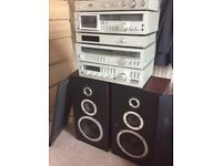 Hifi sold as seen . No offers