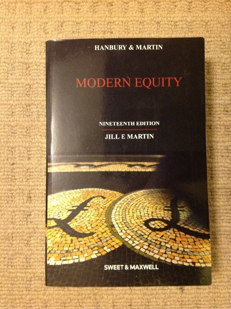 Law book, Modern Equity