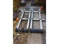 Vauxhall combo twin ladder roof rack