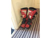 Gearne x2 men mx boots size 7.5