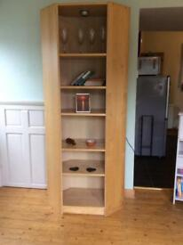 Ikea Billy corner unit / bookcase
