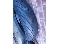 rear tyre 160/60/17zr michelin 2ct