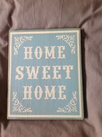 Laura Ashley home sweet home sign