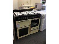 Leisure range 100cm duel fuel cooker new/graded 12 mth gtee