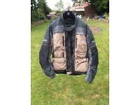 Motorcycle jacket/trousers/gloves SPADA