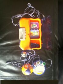 V-Tech V-Smile Kids Games Console + Games-brand new un boxed