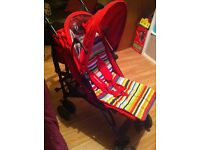 Mothercare red Buggy/stroller