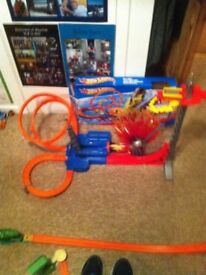 Hot Wheels Sky Jump Set.