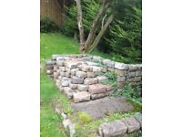 Cobble stones reclaimed about 150 could be more . Buyer must collect