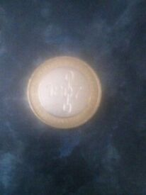 1807 an act for the abolition of the slave trade £2 coin