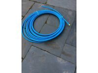 Water pipe 25m x 20mm blue