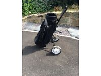 Hippo Plus Golf Club set with Hippo bag and trolley