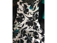 Mother of bride or special occasion dress and jacket size 12