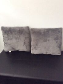 Cushions grey only £1.50