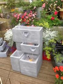 Troughs water feature planter