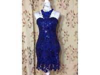NEW WITH TAGS **RARE OPPORTUNITY TO OWN **PARTY 21 JEWELED AND SEQUINNED BODY CON DRESS**