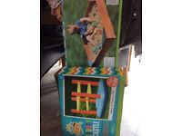 Bouncy castle and sand pit brand new