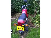 HONDA CG 125 BRASIL MODEL SPARES OR REPAIRS