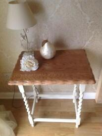 Original Barley Twist Side Table