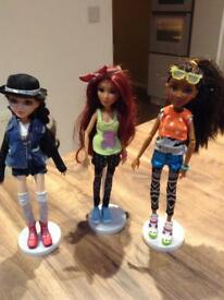 3 X McProject 2 dolls