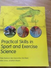 Sport and exercise science study book