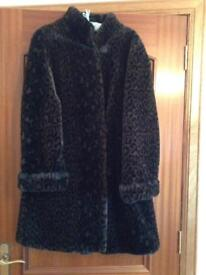Beautiful, Like New Faux Fur - Animal Print - Subtle