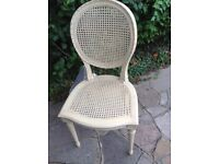 Cream French Style Chair
