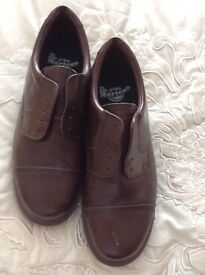 Dr martins brown shoes