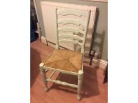 Dining chairs solid oak