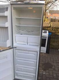 Silver servis fridge freezer...Cheap Free delivery