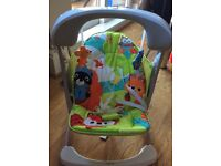 Fisher price portable Swing and Seat £32 collection south woodford