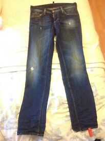 Dsquared jeans. Brand new with tags. Never been worn. 30 waist.