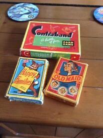 Three vintage card games £6