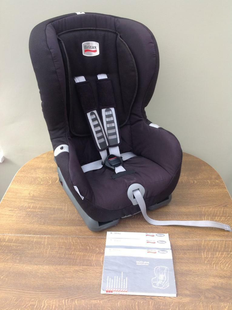 Britax Romer Duo Plus Isofix Or Seat Belt Car Group 1