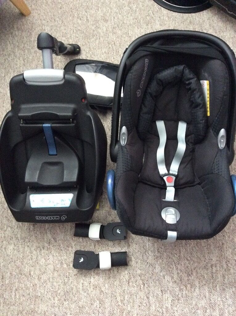 maxi cosi cabriofix group 0 isofix base bugaboo. Black Bedroom Furniture Sets. Home Design Ideas