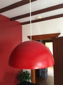 Beautiful ceiling light, immaculate condition.