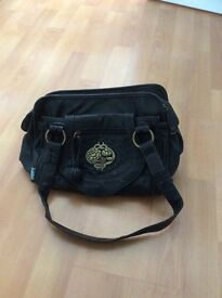 BLACK NICA HANDBAG EXCELLENT CONDITION £8.00