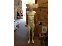 6-8 Year Old Faceless Articulated Children Mannequins Only Used Once