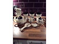 Farmyard tea set
