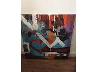 IKEA canvas 90cm X 90cm