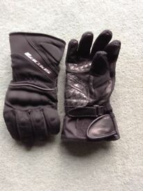 Motorcycle gloves.