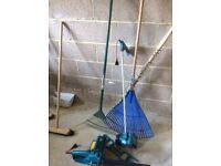 Garden tool , hose , pot bundle