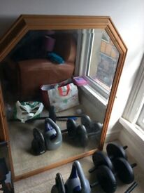 large mantle mirror - sensible offers please