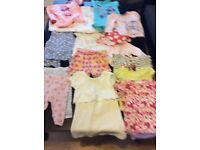 Baby clothes mixed sizes
