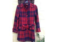 Ladies woollen coat size 12