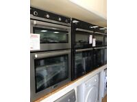 Electric double oven new/graded 12 months gtee
